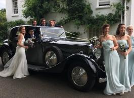 Vintage 1930s Rolls Royce hire in Wimbledon